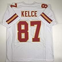 Unsigned Travis Kelce Kansas City White Custom Stitched Football Jersey Size Men's XL New No Brands/Logos