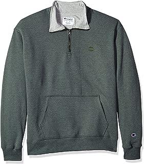 Men's Powerblend Quarter-Zip Fleece Jacket