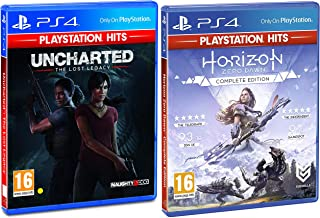 PS4 Uncharted: The Lost Legacy (PS4)&Horizon: Zero Dawn - Complete Edition (PS4)