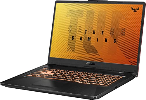 "popular ASUS TUF Gaming F17 Gaming Laptop, 17.3"" FHD IPS-Type Display, Intel new arrival Core i5-10300H, GeForce GTX 1650 Ti, 8GB DDR4, lowest 512GB PCIe SSD, RGB Keyboard, Windows 10, Bonfire Black, FX706LI-RS53 online sale"