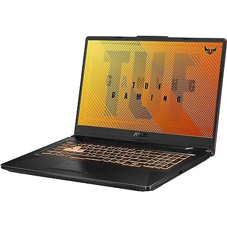"ASUS TUF Gaming F17 Gaming Laptop, 17.3"" 144Hz FHD IPS-Type Display, 8GB DDR4, 512GB PCIe SSD, RGB Keyboard, Windows 10, Bonfire Black, FX706LI-ES53"