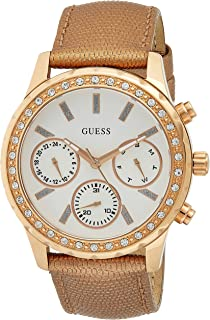 Guess Women's watch Multi-function Display Quartz Movement Leather W0903L3