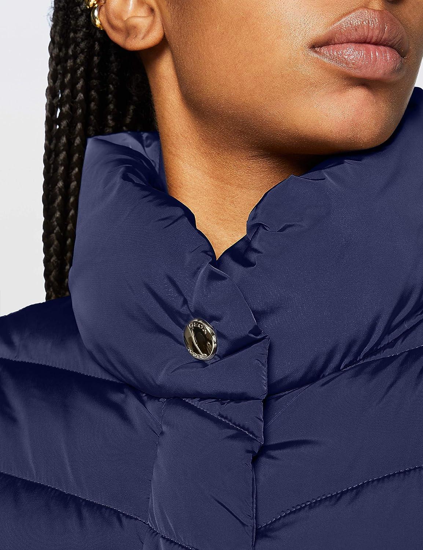Geox Damen W Seyla Jacket Peacot Navy