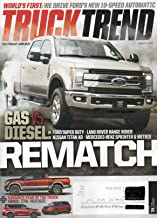 Truck Trend 2017 Magazine WORLD'S FIRST: WE DRIVE FORD'S NEW 10-SPEED AUTOMATIC Nissan's Year Of The Truck: Armada - Titan - Pathfinder