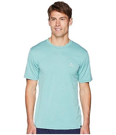 Rip Curl Search Series Short Sleeve (Aqua) Men