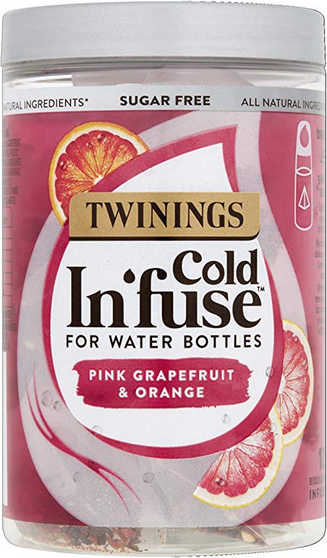 TWININGS COLD IN FUSE PINK GRAPEFRUIT ORANGE