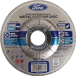 Ford Tools Metal Cutting Disc, 115mm x 3mm, FPTA-1060