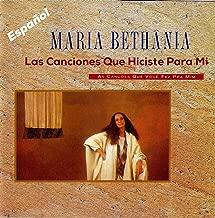 Las Canciones Que Tu Hiciste Para Mi by Bethania, Maria (1994-03-08)