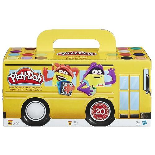 Play-Doh - Super Colour Pack 20 Pots - Pate A Modeler