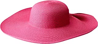 San Diego Hat Company Women's Ultrabraid Sun Brim with a Gathered Back Style - Once Size