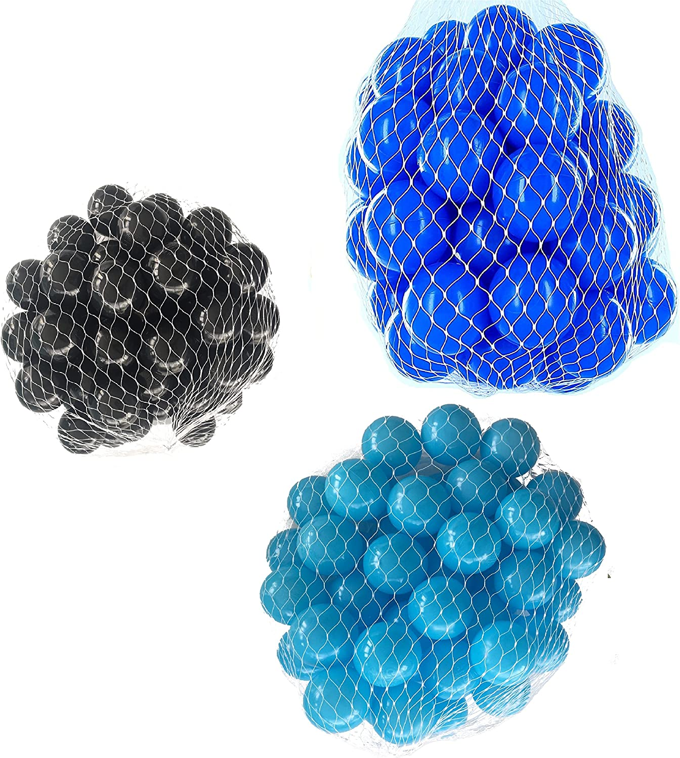 Balls For Ball Pool Mix Set with Turquoise, bluee bluee