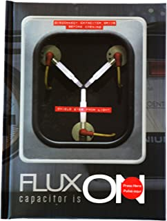 SD Toys Merchandising Flux Capacitor Back to The Future Notebook with Light Standard