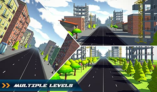 『Traffic Toon Racer : Hi Speed Real Escape Racing Rivals in City Road Pro』のトップ画像