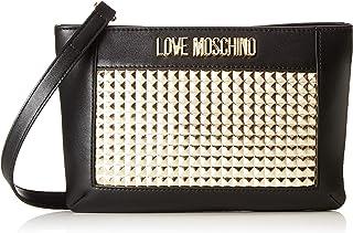 Love Moschino Calf Pu, Borsa a tracolla Donna, (Oro), 3x16x26 cm (W x H x L)