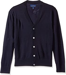 Buttoned Down Mens MBD35014 Italian Merino Cashwool Cardigan Sweater Cardigan Sweater