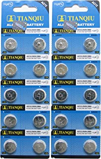 AG12 386A LR43 L1142 RW84 Button Cell Batteries [20-Pack]