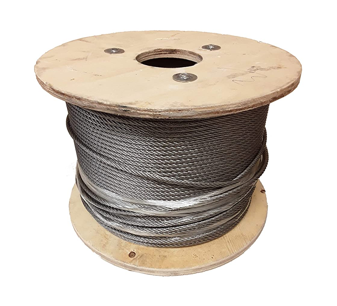 7 x 19 Galvanized Aircraft Cable Wire Rope 3/8