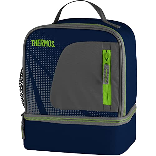 987e05aa634793 Thermos Radiance Dual Compartment Lunch Kit, Navy