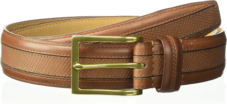 Cole Haan Men's 35mm Bevel Edge Strap W/Seam