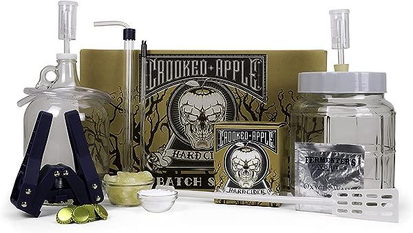 Northern Brewer Crooked Apple Hard Cider Starter Kit Makes One Gallon