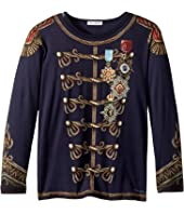 Dolce & Gabbana Kids - Heraldic Long Sleeve T-Shirt (Toddler/Little Kids)