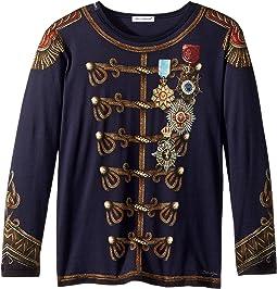 Dolce & Gabbana Kids - Heraldic Long Sleeve T-Shirt (Toddler/Little Kids)