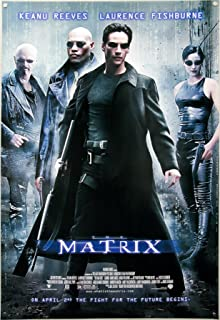 BEYONDTHEWALL Archive The Matrix Rare Imported European One Sheet Classic SciFi Action Film Poster Print (UNFRAMED 27X41)