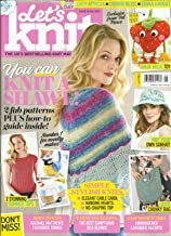 LET'S KNIT MAGAZINE, MAY, 2017 ISSUE,118 THE UK'S BEST SELLING KNIT MAGAZINE