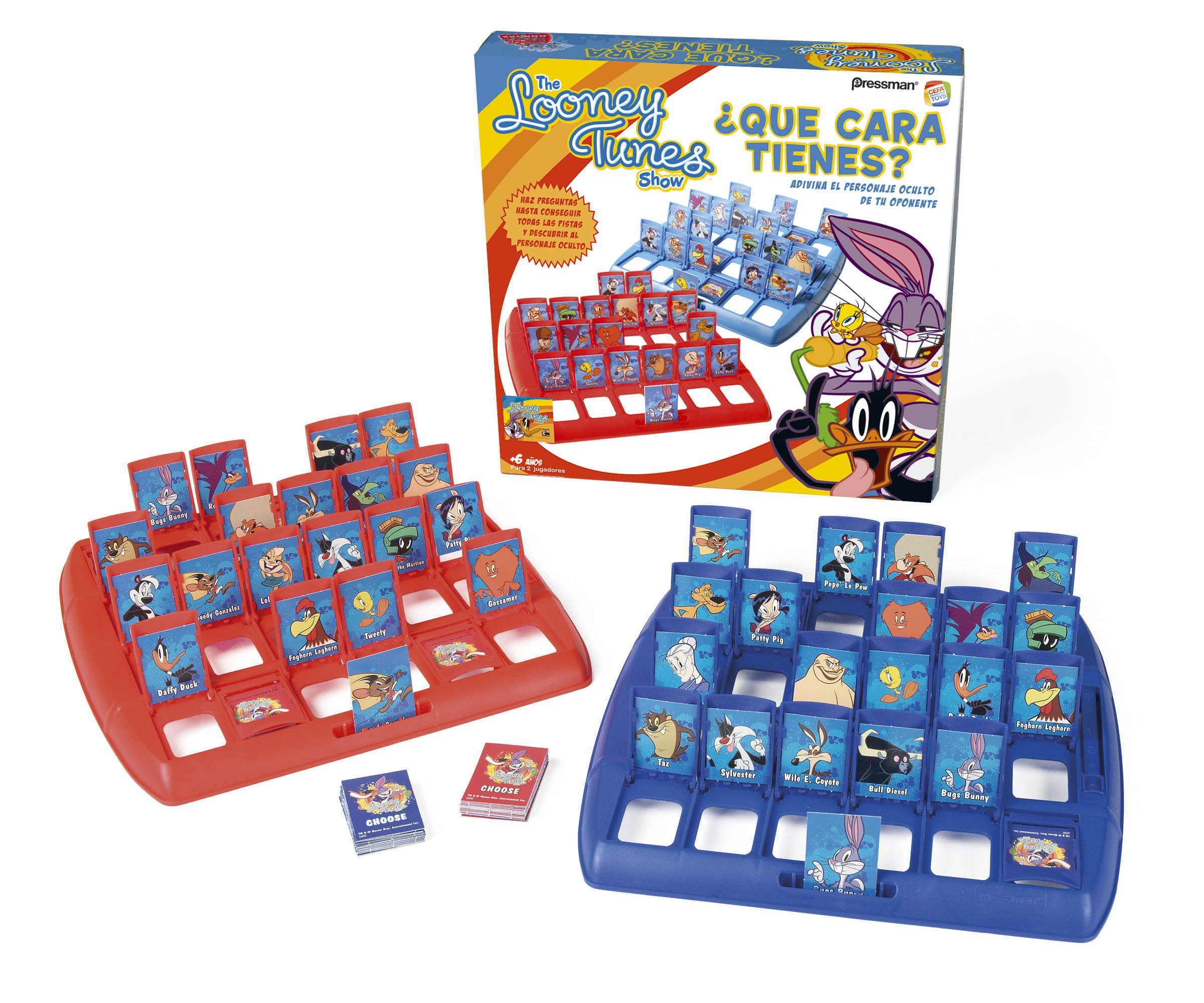 LOONEY TUNES - Qué Cara Tienes, Juego de Mesa (Cefa Toys 04526): Amazon.es: Juguetes y juegos