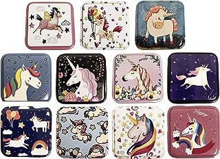 Unicorn Metal Tin Storage trinket Box party favor Box of 24 pcs