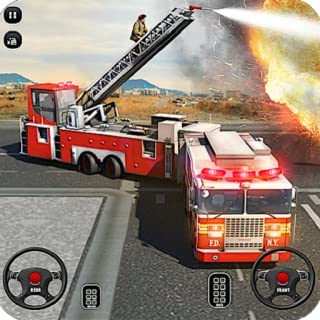 Fire Truck Driving School Simulator 2018: 911 Emergency Rescue Game FREE