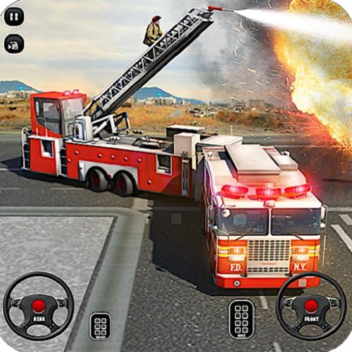 Feuerwehrauto Fahrschule Simulator 2018 911 Notfallrettung Spiel FREI