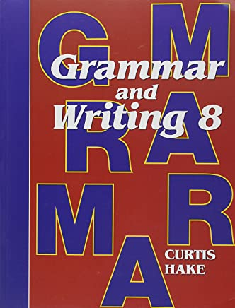 Stephen Hake Grammar, Grade 8: Student Textbook