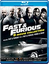 Fast & Furious 8 Movies Collection + Hobbs & Shaw (9-Disc Box Set)