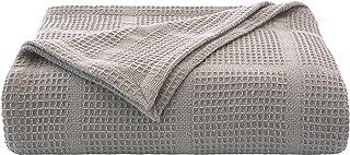 Kenneth Cole New York Kcny Essentials-Grey King Cotton Blanket