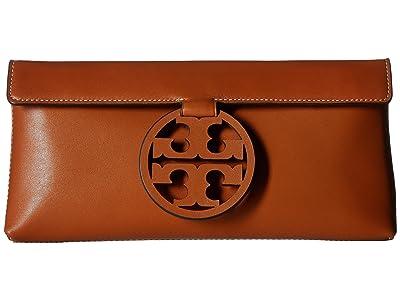 Tory Burch Miller Clutch (Aged Camello) Clutch Handbags