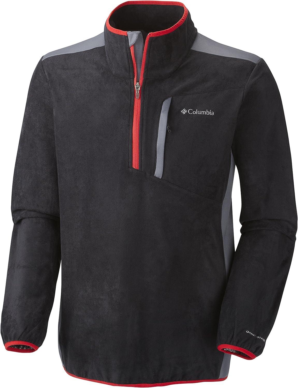 Columbia Sportswear Men's Crosslight 在庫一掃売り切りセール メーカー公式 II Zip Half Fleece Jacket