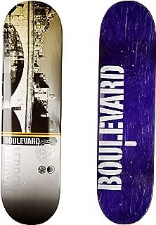 Blvd Skateboards Cityscape LeBron Deck, 8.125-Inch