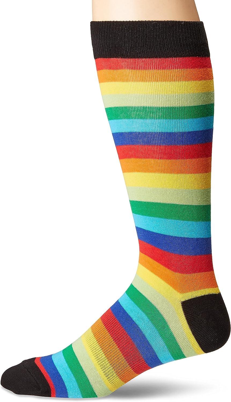 K. Bell Socks High Max 55% OFF order mens Geometric Crew Novelty Pattern