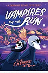 Vampires on the Run: A Quinnie Boyd Mystery (Quinnie Boyd Mysteries Book 2) Kindle Edition
