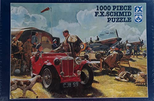 1000 Piece F.X. Schmid Puzzle To the Victor