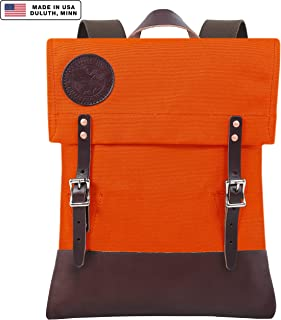 Duluth Pack Scout Deluxe Pack (Orange)