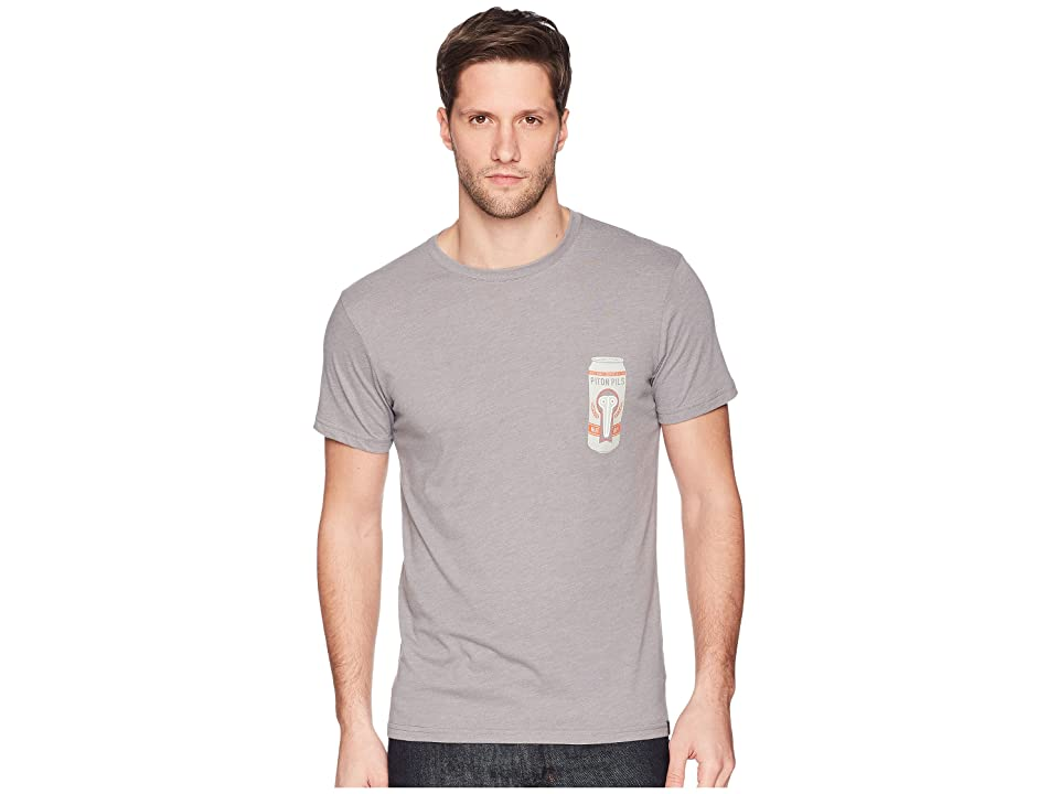 Mountain Hardwear Fourteenertm Short Sleeve Pocket Tee (Heather Manta Grey) Men