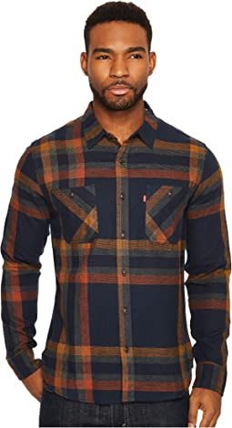 Abbotts Long Sleeve Flannel Shirt