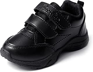 Liberty Boys & Girls School Shoes (Size 07C UK/Age 2.5-3 Years/Length 15.32 cmss, Black)