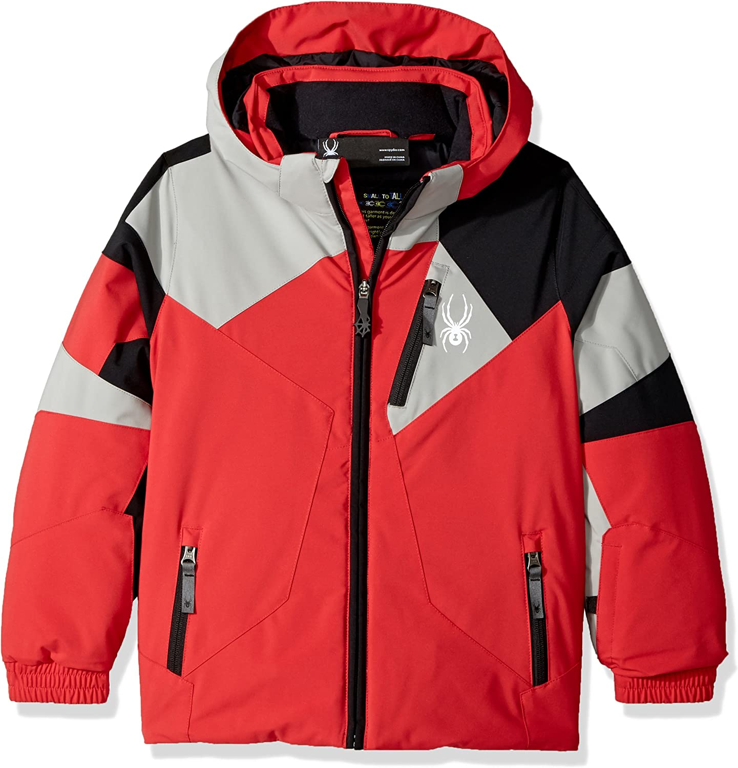 Spyder Special price Mini A surprise price is realized Leader Ski Jacket Red 6 Black Limestone Size