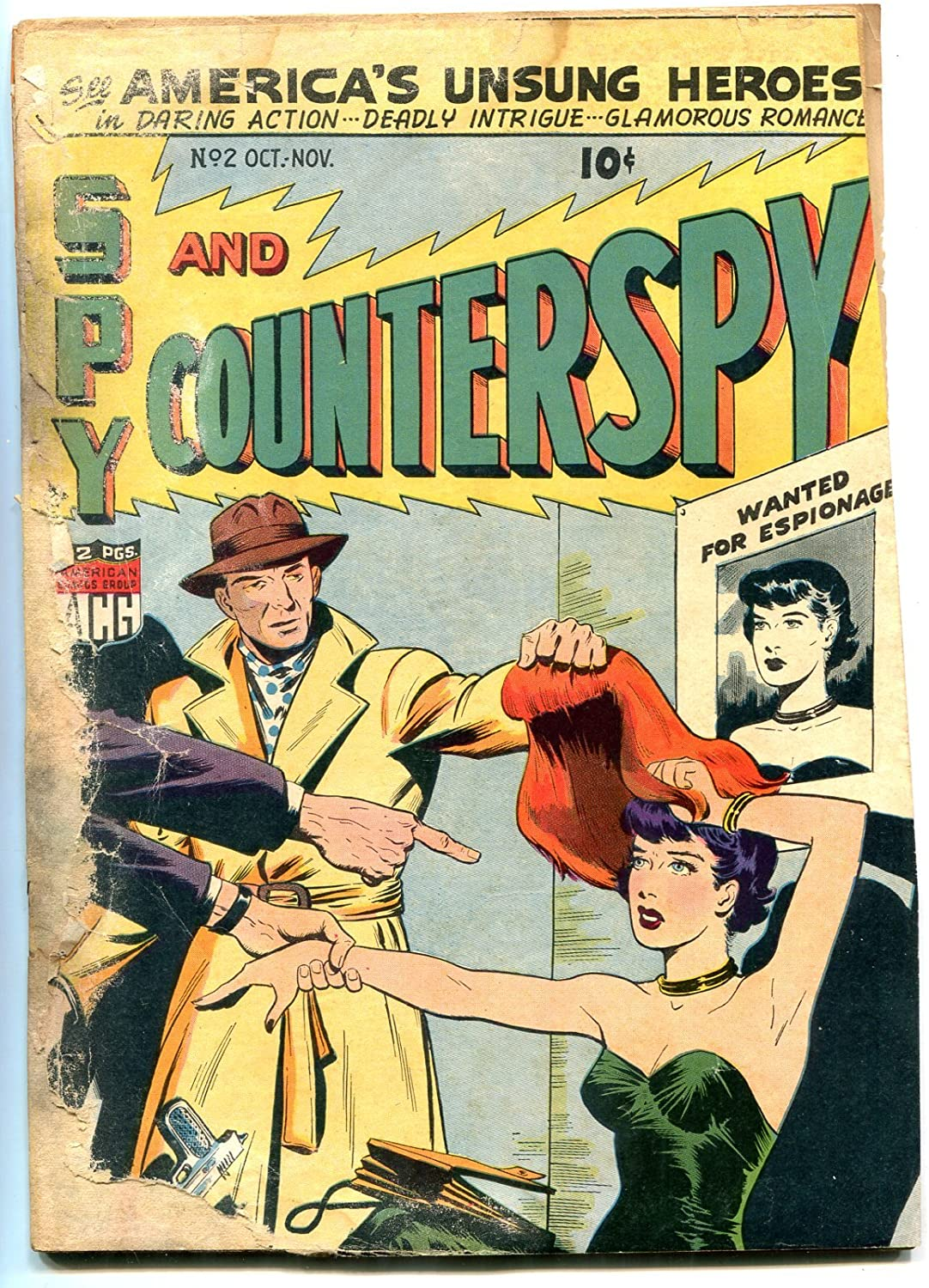 Spy and Counter #2 Max 81% OFF 1949 Black Confederat Avengers Max 69% OFF Boyd Belle