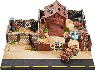 Disney Pixar Cars Precision Series Tow Mater Towing & Salvage Playset