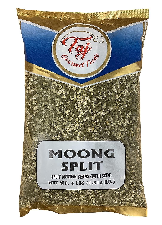 TAJ Moong Split Lentil Skin with Max 57% OFF 4lbs store Beans