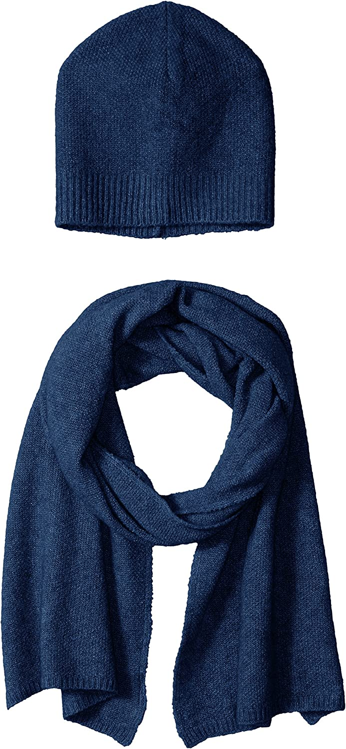 Bela.nyc Women's Wool Blend Beanie and Scarf Gift Set